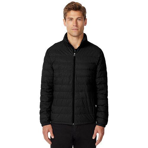 Men's Heat Keep Modern-Fit Packable Stretch Puffer Jacket