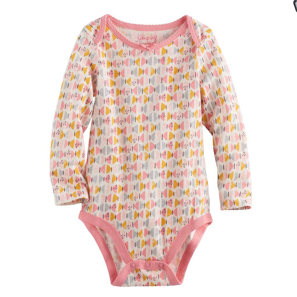 Baby Girl Jumping Beans® Print Bodysuit