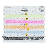 Girls 4-16 5-pk. Choker Necklaces