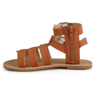 Journee Zoey Girls' Gladiator Sandals