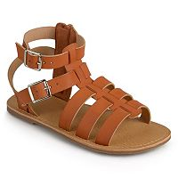 Journee Zoey Girls' Gladiator Sandals