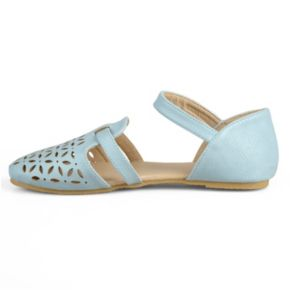 Journee Maeva Girls' D'Orsay Flats