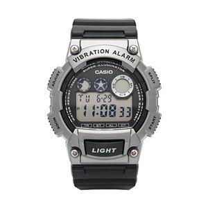 Casio Men's 10-Year Battery Digital Vibration Alarm Watch - W-735H-1A3VCF