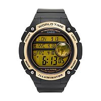 Casio Men's 10-Year Battery Digital World Time Watch - AE3000W-9AV