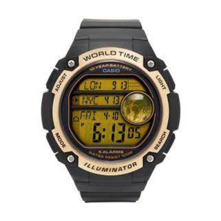 Casio Men's 10-Year Battery Digital World Time Watch - AE3000W-9AV