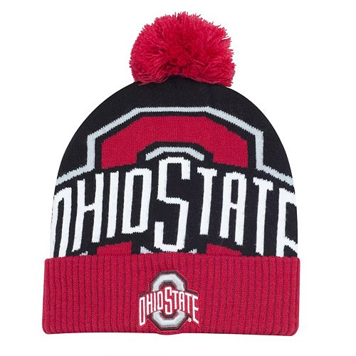 Youth Ohio State Buckeyes Double Stack Beanie