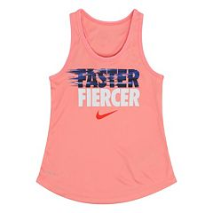 Girls 4-6x Nike 'Faster Fiercer' Dri-FIT Tank Top
