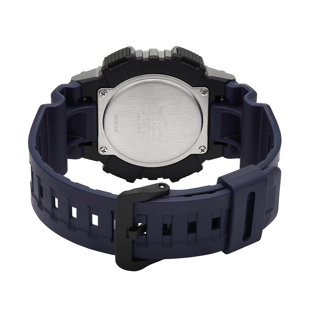 Casio Men's Tough Solar Analog-Digital Watch - AQS810W-1A4VCF