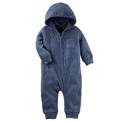 Baby Boy OshKosh B'gosh® Quilted Hooded Coverall