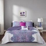Intelligent Design Katarina Coverlet Set