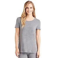 Plus Size Cuddl Duds Softwear Short Sleeve Tee