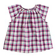 Toddler Gilrs OshKosh B'gosh® Plaid Top