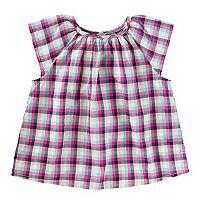 Toddler Gilrs OshKosh B'gosh® Plaid Top