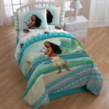 "Disney's Moana ""The Wave"" 4-piece Twin Bedding Set"