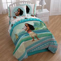 Disney's Moana 'The Wave' 4-piece Twin Bedding Set
