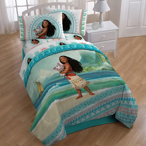 Disney S Moana Quot The Wave Quot 4 Piece Twin Bedding Set
