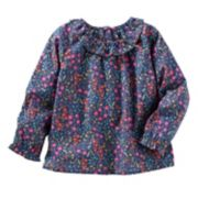 Toddler Girls OshKosh B'gosh® Ruffled Floral Top