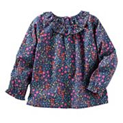 Toddler Girls OshKosh B'gosh® Ruffled Floral Top