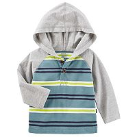 Baby Boy OshKosh B'gosh® Striped Raglan Hoodie