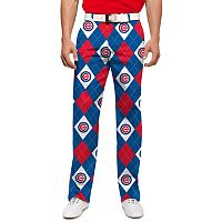 Men's Loudmouth Chicago Cubs Argyle Pants