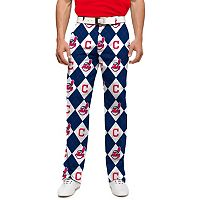 Men's Loudmouth Cleveland Indians Argyle Pants