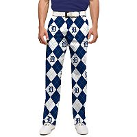 Men's Loudmouth Detroit Tigers Argyle Pants