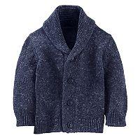 Baby Boy OshKosh B'gosh® Marled Shawl Collar Cardigan Sweater