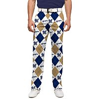 Men's Loudmouth Milwaukee Brewers Argyle Pants