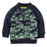 Baby Boy OshKosh B'gosh® Jersey Camo Bomber Jacket