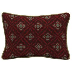 Bombay® Outdoors Geo Floral 2 pc Reversible Oversize Oblong Throw Pillow Set