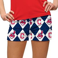 Women's Loudmouth Cleveland Indians Argyle Shorts