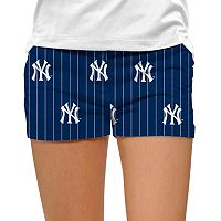 Women's Loudmouth New York Yankees Pinstripe Shorts