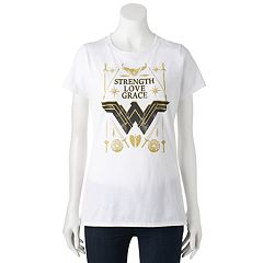 Juniors' DC Comics Wonder Woman 'Strength' Graphic Tee