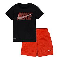 Boys 4-7 Nike Tee & Shorts Set
