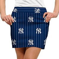 Women's Loudmouth New York Yankees Golf Pinstripe Skort