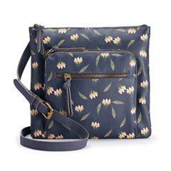 SONOMA Goods for Life™ Dina Triple Entry Crossbody Bag