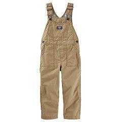 Baby Boy OshKosh B'gosh® Corduroy Jersey-Lined Overalls