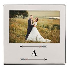 Cathy's Concepts Monogram Arrow 5.75' x 3.75' Frame