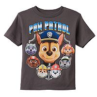 Boys 4-7 Paw Patrol Chase, Marshall & Rubble Graphic Tee