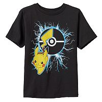 Boys 4-7 Pokémon Pikachu Lightening Graphic Tee