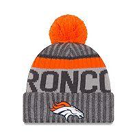 Adult New Era Denver Broncos Official Sport Beanie