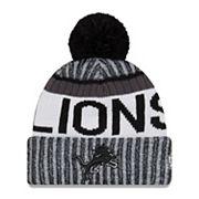 Adult New Era Detroit Lions Official Sport Beanie