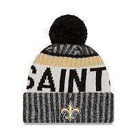 Adult New Era New Orleans Saints Official Sport Beanie