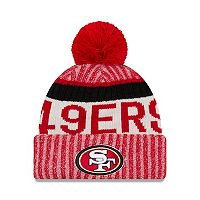 Adult New Era San Francisco 49ers Official Sport Beanie