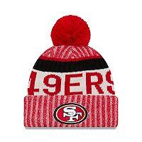 Adult New Era San Francisco 49ers Official Sport Beanie