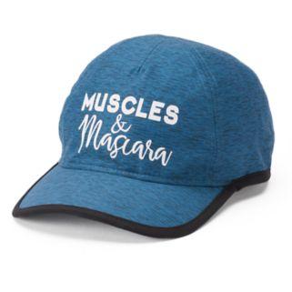 "Women's Tek Gear® ""Muscles & Mascara"" Baseball Cap"