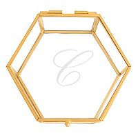 Cathy's Concepts Monogram Keepsake Box Table Decor