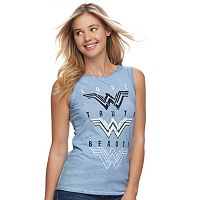 Juniors' Wonder Woman Graphic Print Tank