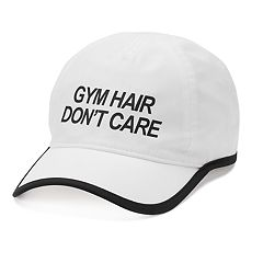 Women's Tek Gear® 'Gym Hair Don't Care' Baseball Cap