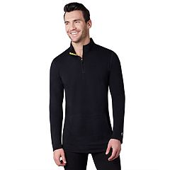 Men's Climatesmart Comfort Wear Stretch Performance Quarter-Zip Pullover